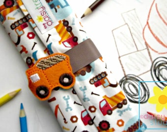 Pencil Organizer, Pencil Roll, Pencil Wrap, Color Pencil Holder, Color Pencil Case, Colored Pencil Roll, Color Pencil, Colored Pencils
