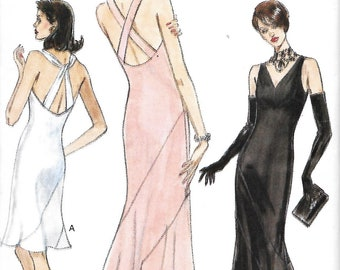 Vogue 9394 Misses Evening gown Sewing Pattern, Size 6-8-10