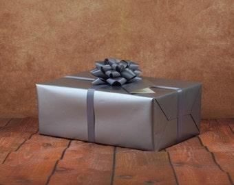 Premium Collection Gift Wrap Kit - Silver