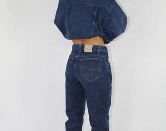 Vintage Lee Jeans High Waisted Women's | Mom Jeans | High Waist Jeans | Vintage Denim