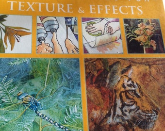 Art Techniques for Texture and Effects - Softcover book - by Paul Taggart