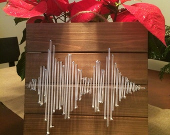Custom Order, String Art Plaque