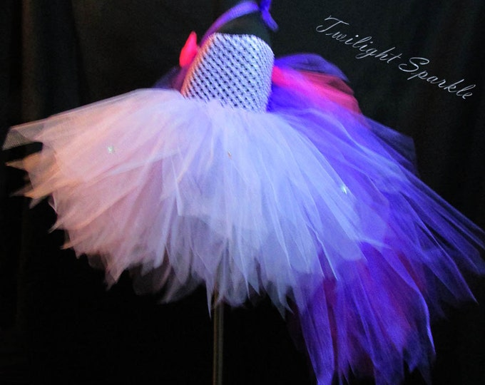 My Little Pony Twilight Sparkle Themed Tutu