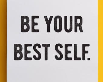 Be Your Best Self - Poster