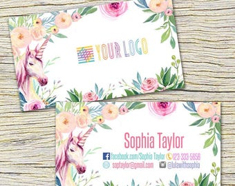 Lularoe unicorn business cards etsy unicorn business cards fast free personalization and change digital business cardshome office reheart Image collections