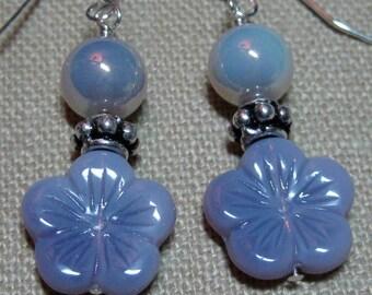 Lovely Lavender Earrings - E784