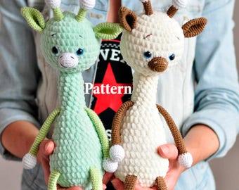 Toby the Giraffe, Amigurumi pattern, amigurumi giraffe pattern, crochet toy pattern, amigurumi doll pattern,amigurumi animals, PDF file