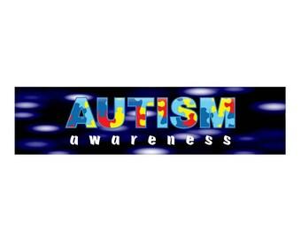 Autism Awareness Vinyl Banner