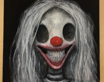 Grilda the Clown Witch