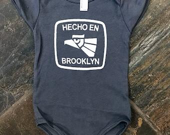Hecho en Brooklyn Baby One Piece