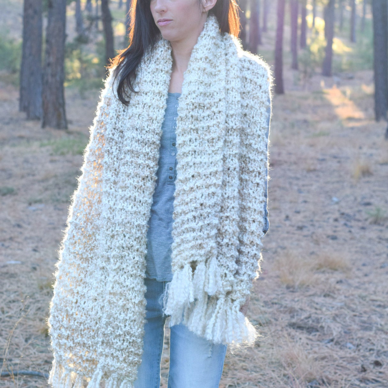 Sedona Serenity Shawl Pattern, Easy Knit Shawl Pattern, Blanket ...