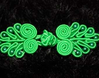1 button Chinese Asian knot