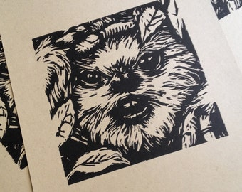 Star Wars Woodcut No. 1