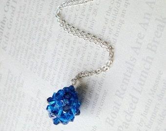 Swarovski Crystal TEARDROP Necklace FOR CHORDOMA charity