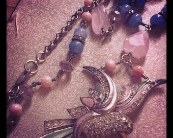 French Bird Necklace