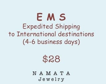 EMS - Expedited Shipping to International Destinations