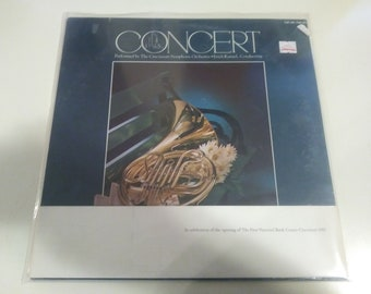 Cincinnati Symphony Orchestra - Concert In The Park Brand New Sealed Original Press FNB-001  Record 1972 - Old Store Stock