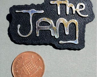 Original Mod The Jam Badge - Music Memorabilia Badge - Paul Weller