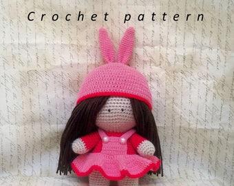 Crochet Pattern / Pattern / Amigurumi / Crochet Doll Pattern  / Amigurumi doll / Amigurumi pattern / Lussy