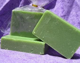 Cooling Citrus Cold Process Soap Bar