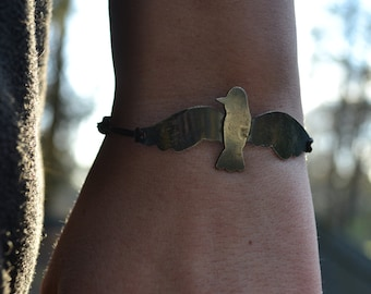 Spreading My Wings; Bracelet