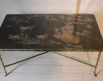 1930's Bagues Style Coffee Table