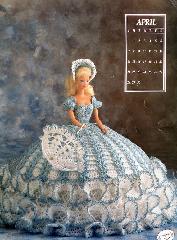 Calendario cama muñeca sociedad | Patrón de ganchillo | Ática de ...