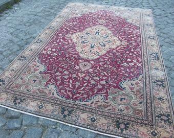 turkish rug, runner turkish rug, rug floor, vintage home, 425
