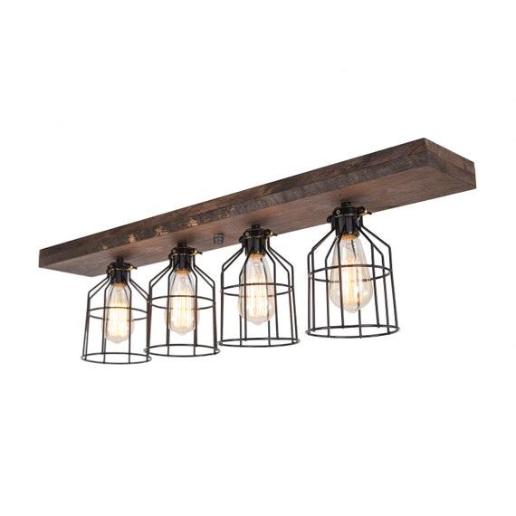 farmhouse flush mount wood light wood ceiling light light