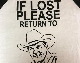 George Strait Raglan Shirt