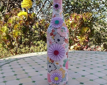 Up cycled Bottle Vase