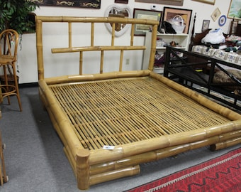 Bamboo King Size Bed