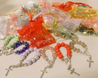 Pocket Rosaries | Baptism Giveaways | Favors