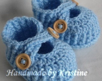 Handmade Crochet Baby Booties ,newborn baby, 0-3 months, 3 to 6 months old baby, choose your colour