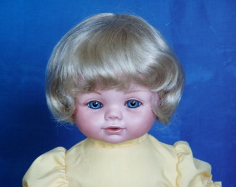 Carrie, porcelain doll from a Jones mold