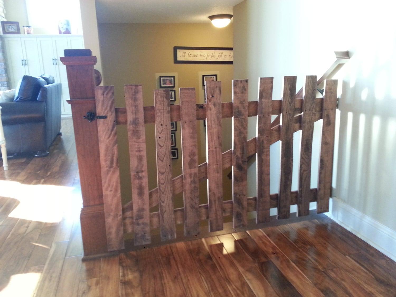 Rustic Pallet Wood Baby Or Pet Gates