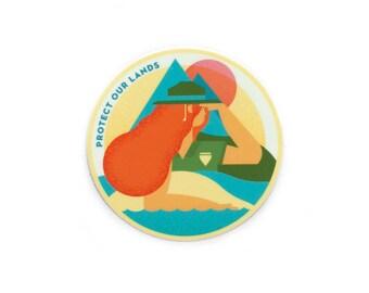 Ranger Babe Vinyl Sticker