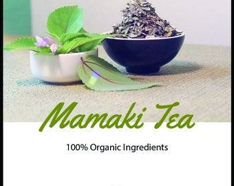100% Organic Mamaki Tea from Hawaii - Loose Leaf Tea