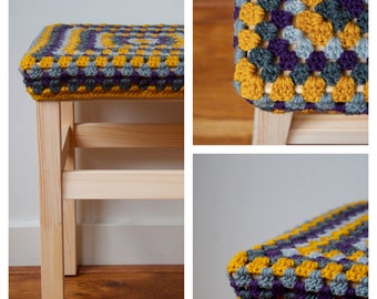 Pattern for cover stool