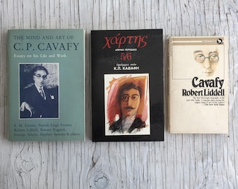 The Mind and Art of C. P. Cavafy. Essays on his life and work, 1983, English, includes 2 more Cavafy books, one in Greek other in English.
