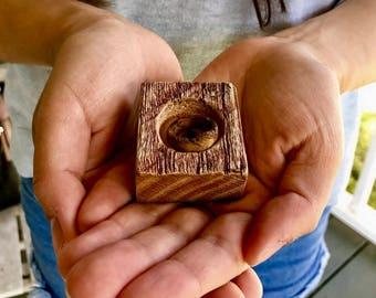 Reclaimed Barnwood Ring