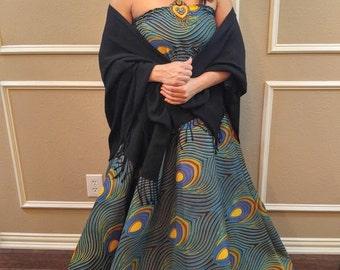 African dress, African maxi dress, Maxi dress, African print dress, African clothing, Ankara maxi dress, Ankara dress, Ankara, Formal dress