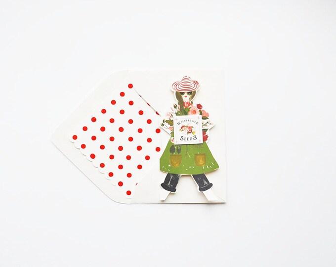 Garden Girl w WILDFLOWER Seeds