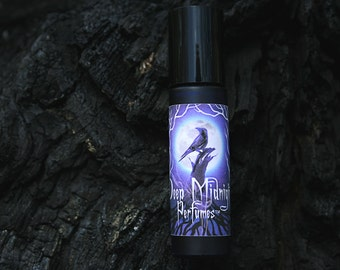BURNT OFFERING Perfume Oil - Charred Cedar and Pine, Dark Honey, Beeswax - Gothic Autumn - Fall Fragrance