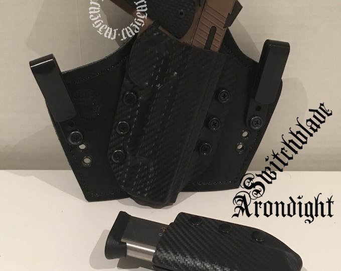 Black Knight Extreme Comfort Holster and Arondight Switchblade combo