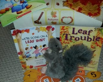 Autumn Take Home Literacy Bag