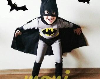 Batman Costume & Batman costume | Etsy