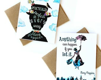 Mary Poppins cards