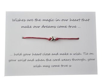 Frienship Wish Bracelet by A Bit Krafty,