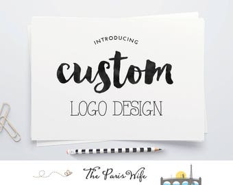 custom logo design hand drawn logo monogram logo watercolor logo floral logo boutique logo ecommerce website logo design business logo 標誌設計